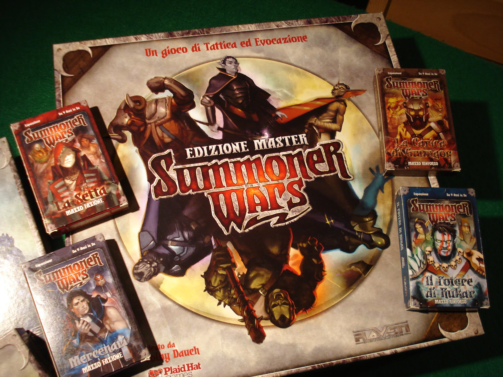 Summoner Wars Master Set Unboxing Summoner Wars il Master Set è