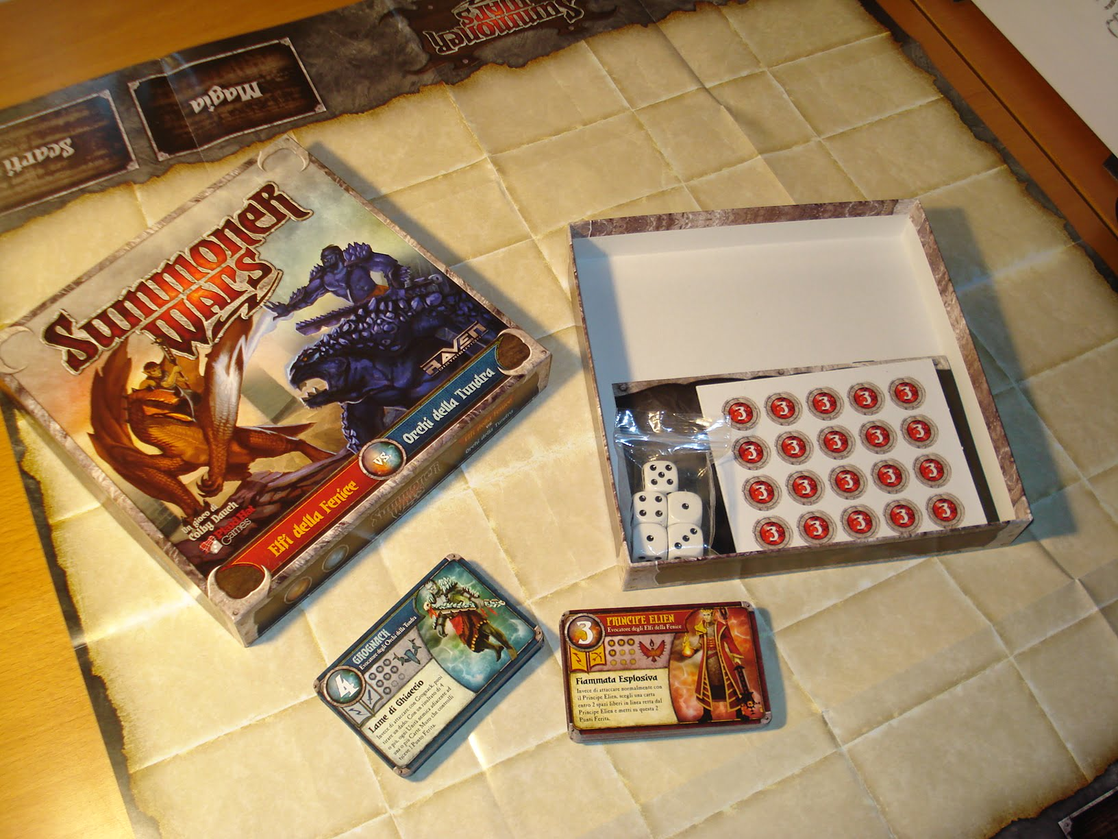 Summoner Wars Master Set Unboxing Set to Play Summoner Wars