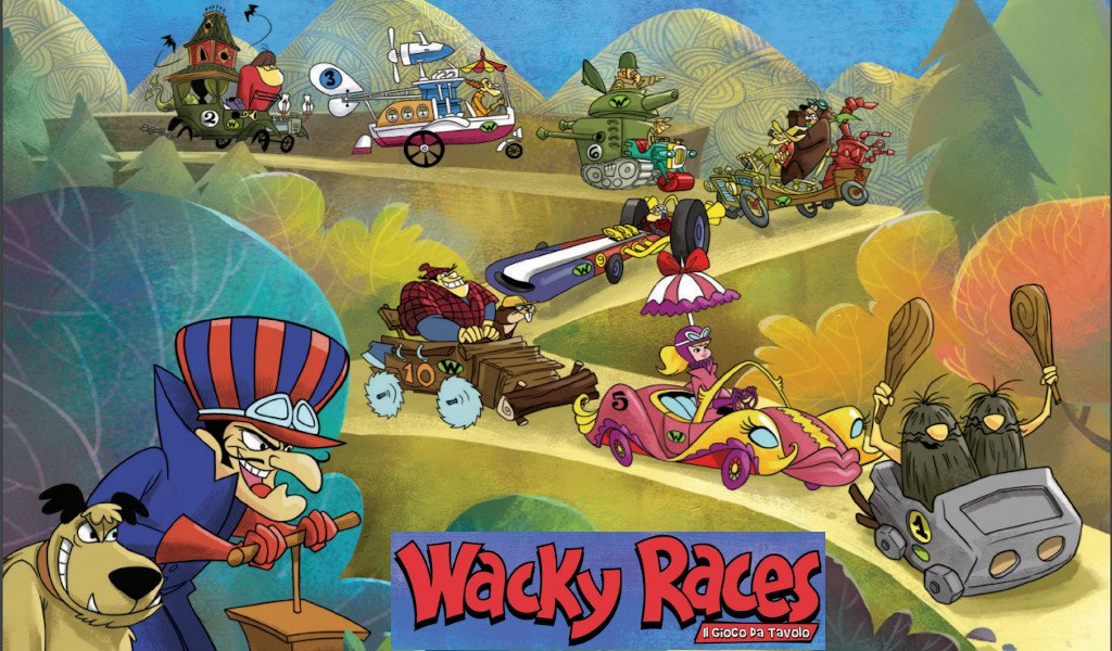 Una Vignetta di carta..vi seppellirà - Pagina 27 Wacky-races-000